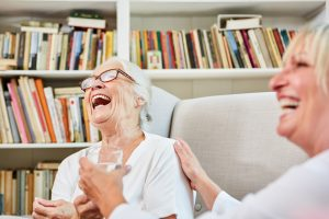Laughing Senior Woman Scaled