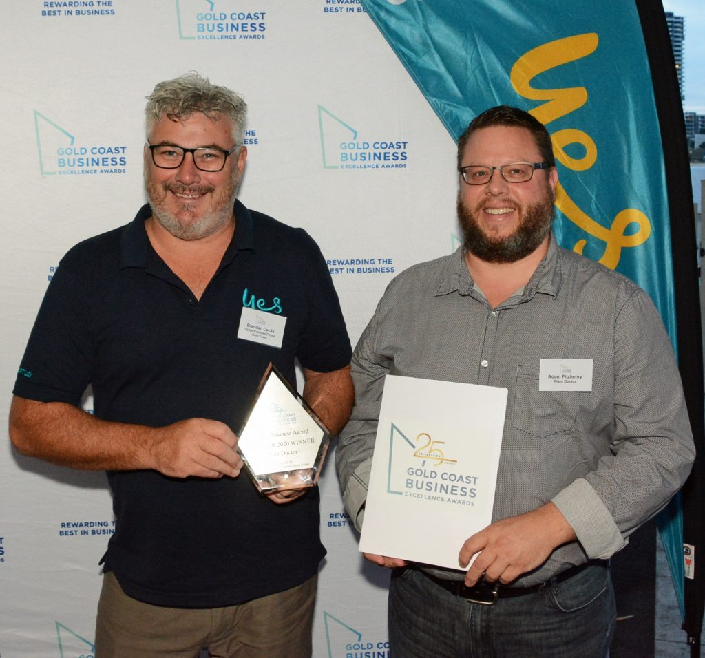 Plant Doctor and Gold Coast business awards