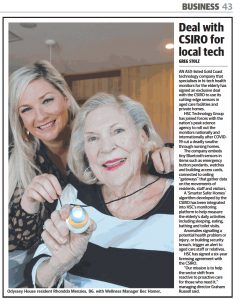 HSC Technology Group in the Courier Mail